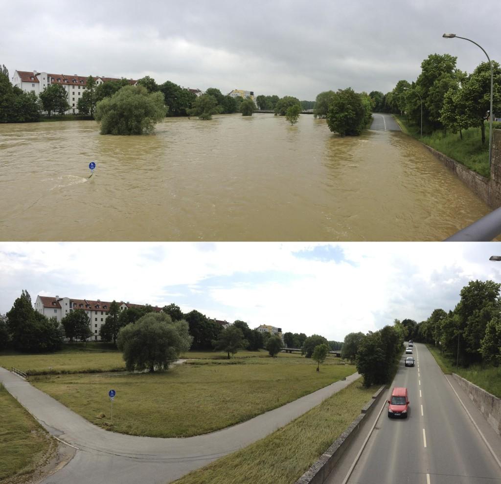 Flutmulde Landshut